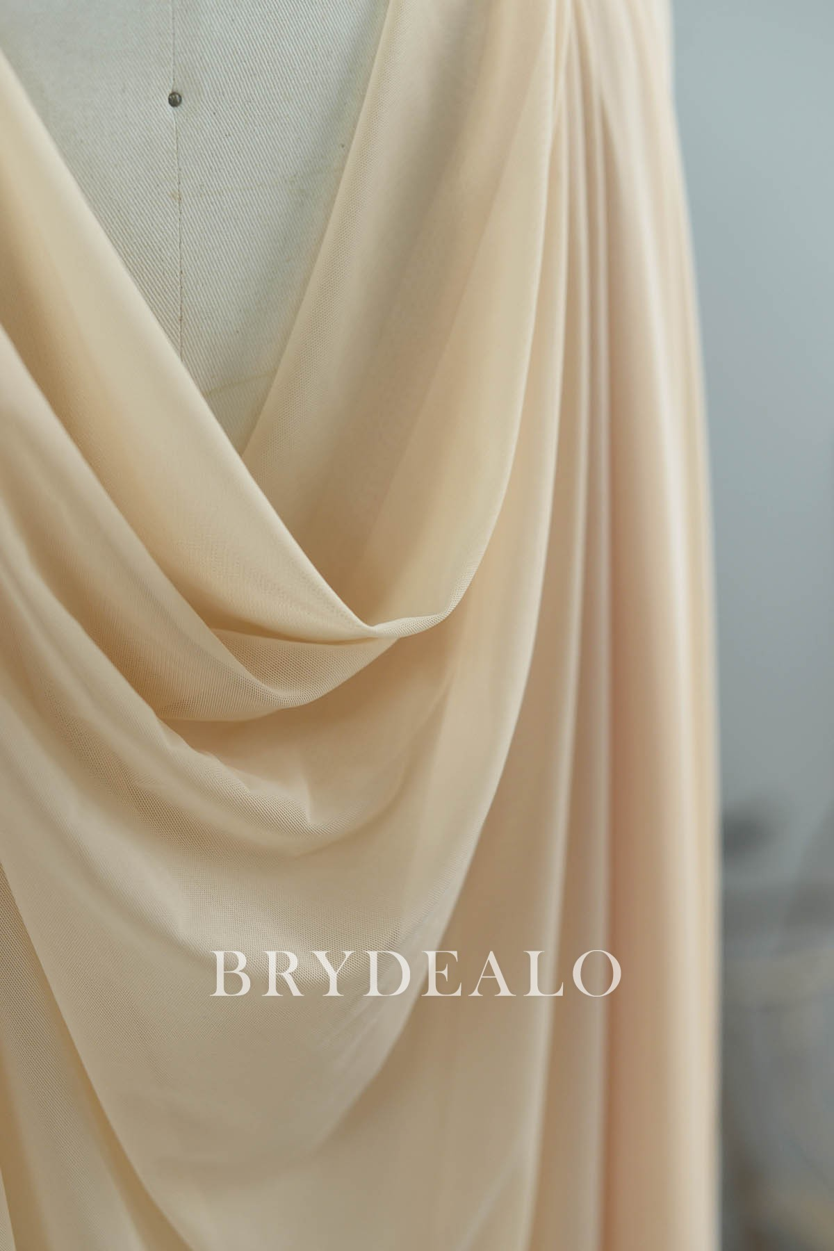 Power Mesh Nude 60 Wide Poly-Spandex Fabric by the Yard